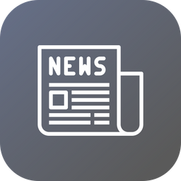 Olympic, Newspaper, Newsletter, Press, Release, Article Icon