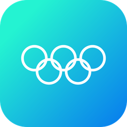 Olympic, Sign, Olympics, Logo, Play, Sport, Event Icon