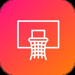 Olympics, Game, Basketball, NBA, Net, Basket Icon