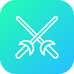 Olympics, Game, Fencing, Sword, Equipment, Fence, Sports Icon