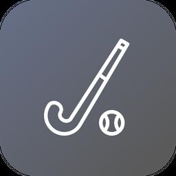 Olympics, Game, Sports, Hockey, Stick, Ball Icon