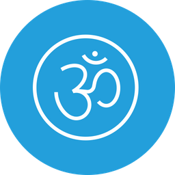 Om, Sticker, Rangoli, Diwali, Festival, Celebration Icon
