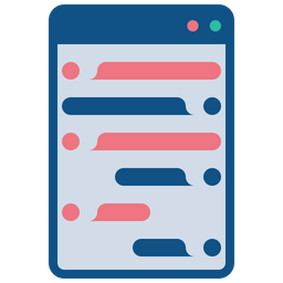 Online Colored Outline Icon