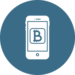 Online Crypto-currency Icon