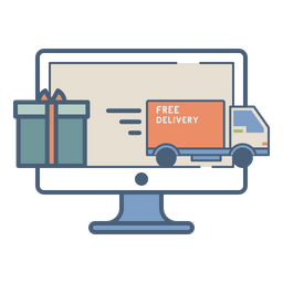 Online, Marketplace, Logistics, Fulfillment, Order, Shipment, Gift Icon