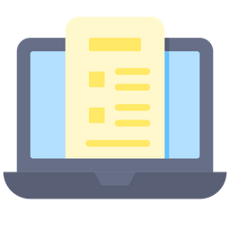 Online Reports Icon