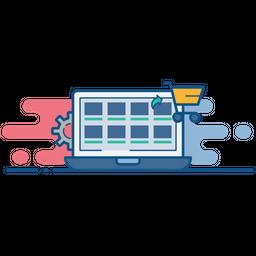 Online, Shop, Store, Marketplace, Management Icon