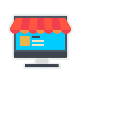 Online, Shop, Store, Shopping, Marketplace, Buy, Sell, Product Icon