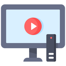 Online Video Streaming Icon