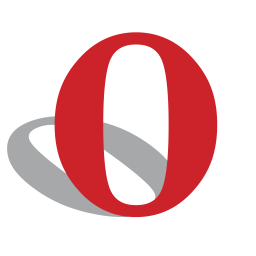 Opera Flat  Logo Icon