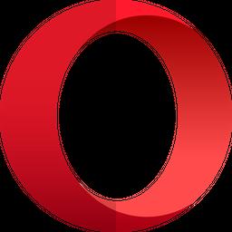 Opera Gradient  Logo Icon