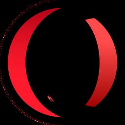 Opera Colored Outline  Logo Icon