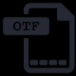Otf extension Icon