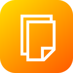 Page, Paper, Copy, Tool, Duplicate, Clone Icon