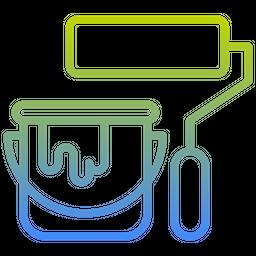 Paint Jar Gradient Icon