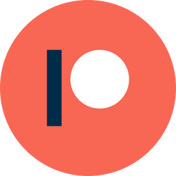Patreon Icon of Flat style - Available in SVG, PNG, EPS, AI & Icon fonts