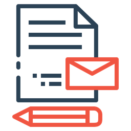 Pen, Document, Mail, Email, Envelope, Paper, Write Icon