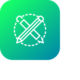 Pen, Pencil, Drawing, Design, Stationary, Material Icon