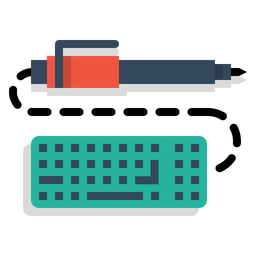 Pen, Pencil, Keyboard, Write, Drawing, Design, Sketch Icon png