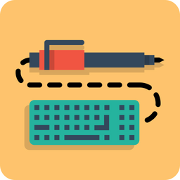 Pen, Pencil, Keyboard, Write, Drawing, Design, Sketch Icon png