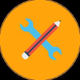 Pen, Pencil, Settings, Seo, Web, Editing, Stationary Icon png
