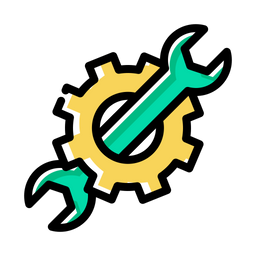 Pen, Pencil, Settings, Seo, Web, Editing, Stationary, Wrench Icon