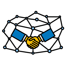 Personal, Connection, Joint, Venture, Handshake, Partnership Icon png