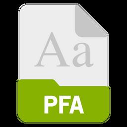 Pfa file Icon