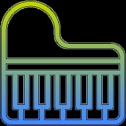 Piano Gradient Icon