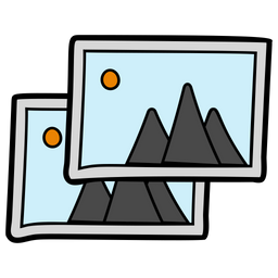 Picture Gallery Icon Of Doodle Style Available In Svg Png Eps Ai Icon Fonts