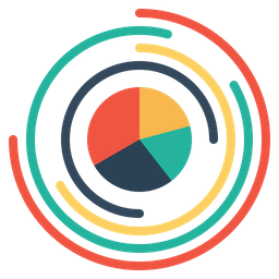Pie, Gauge, Chart, Company, Annual, Business, Analysis Icon
