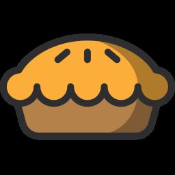 Pie, Piecake, Sweet, Desert, Food Icon