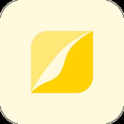 Pied Piper Flat  Logo Icon