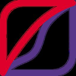 Pied Piper Line  Logo Icon