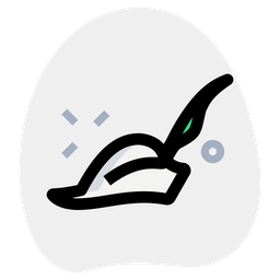 Pied Piper Hat Colored Outline  Logo Icon
