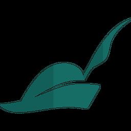 Pied Piper Hat Gradient  Logo Icon