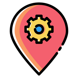 Place, Optimization, Pin, Market, Settings, Preferences, Seo Icon