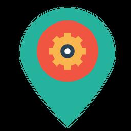 Place, Optimization, Pin, Market, Settings, Preferences, Seo Icon