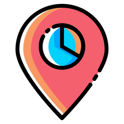 Place Icon Of Colored Outline Style Available In Svg Png Eps Ai Icon Fonts