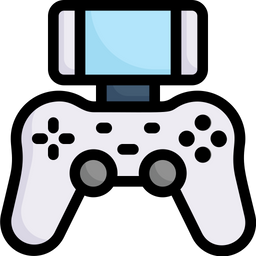 Playing Video Game Icon Of Colored Outline Style Available In Svg Png Eps Ai Icon Fonts
