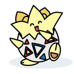 Pokemon Colored Outline Icon