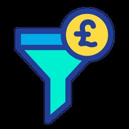 Pound Funnel Icon