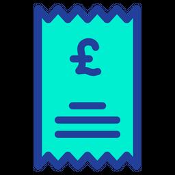 Pound Statement Icon