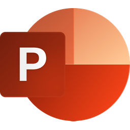 Powerpoint Icon of Flat style - Available in SVG, PNG, EPS, AI ...