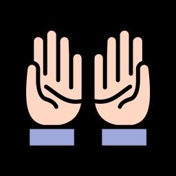 Praying Icon