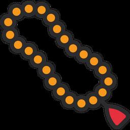 Praying Beads Icon