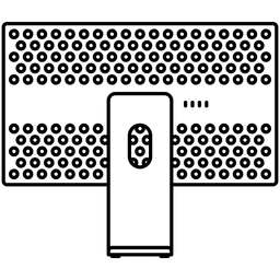 Pro display xdr back view Icon