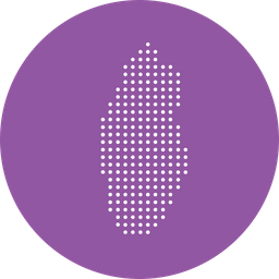 Qatar, East, Country, Gulf, Map, Middle, Nation, Location Icon