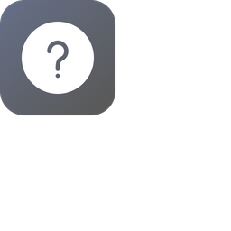 Question Glyph Icon