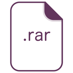 Rar, File, Document, Extension, Filetype, Archive Icon